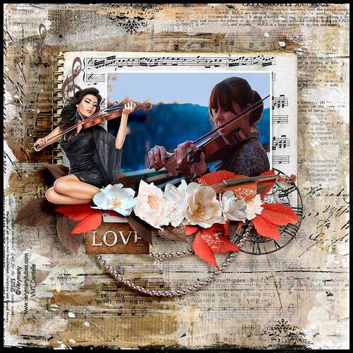 A Love Song by dentelle scrap