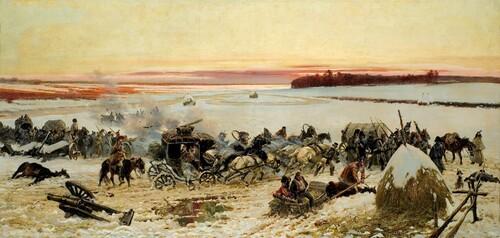 La guerre en Russie de 1812