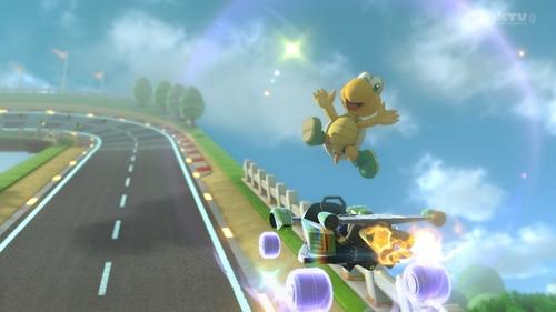 Magie ! dans Mario Kart 8 !