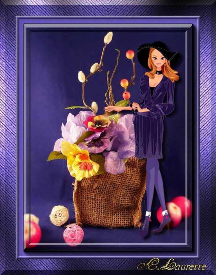 27.03.2014 Mes défit du jour fait chez : Maja, Papy35,Licorne,