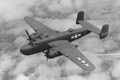 North American B-25 Mitchell modèle J (Etats-Unis)