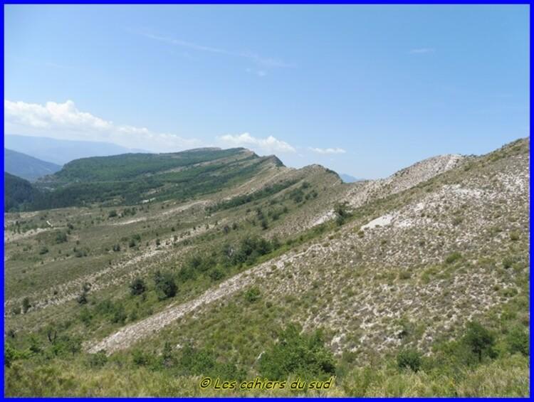 Sisteronnais, Le Mourre de la montagne de Gache