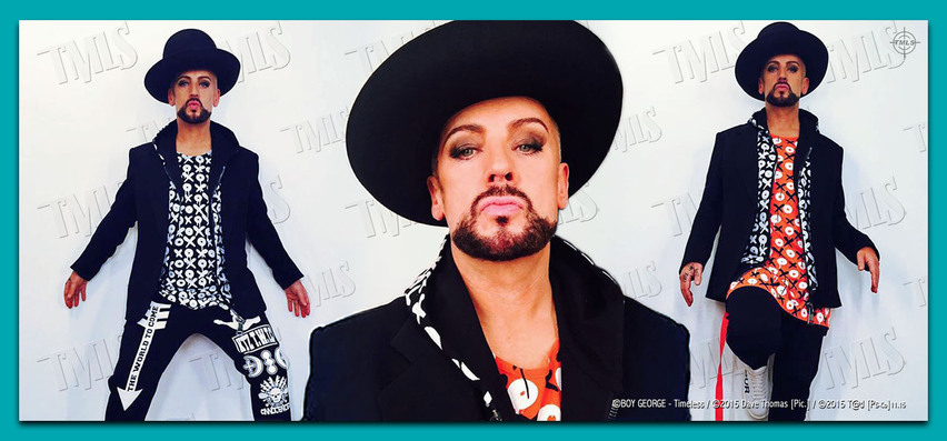 BOY GEORGE - 2015 - Styled By Dave Thomas
