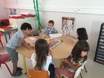 Ateliers avec les CP de Mme Frasca et les GS de Virginie