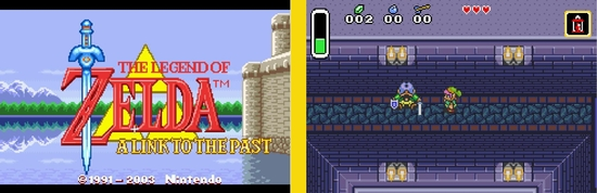 The legend of Zelda A link to the past z