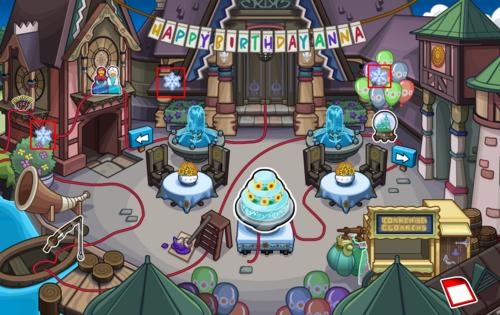 Guide fête de la Reine des Neiges