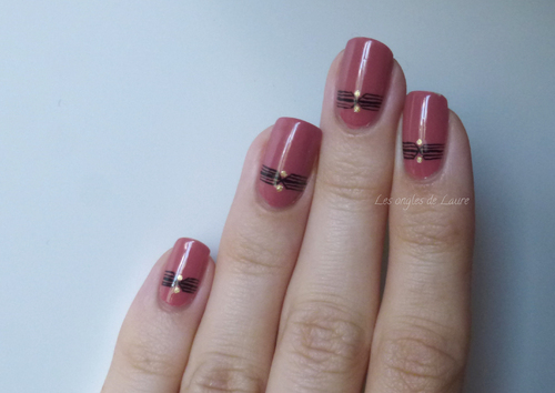 Nail art en tout simplicité