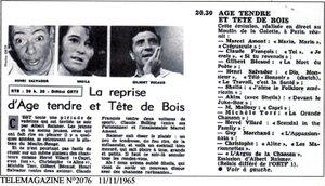 27 octobre 1965 / TETES DE BOIS