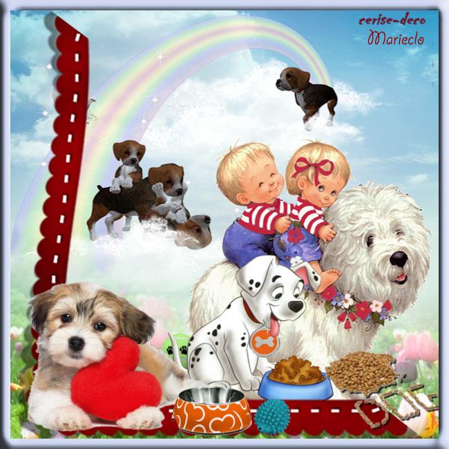 vos participations créations au cluster chien