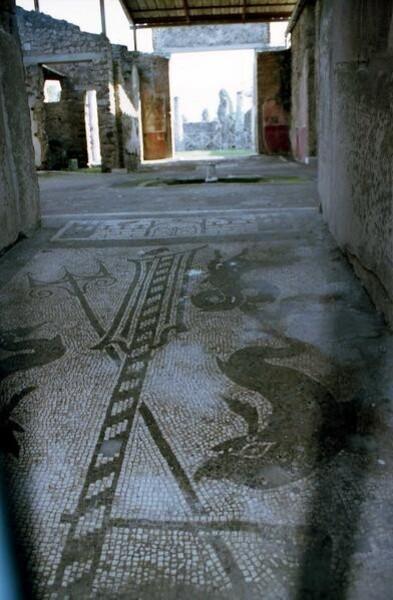 Pompei, Prothyrum de la Maison de Blandus