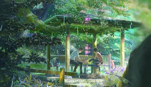 Kotonoha no Niwa - Le jardin des mots.