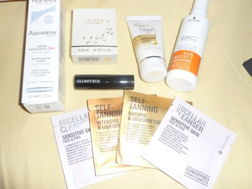 GLOSSYBOX DE JUILLET = TROIS VERSIONS + GLOSSY MADAME