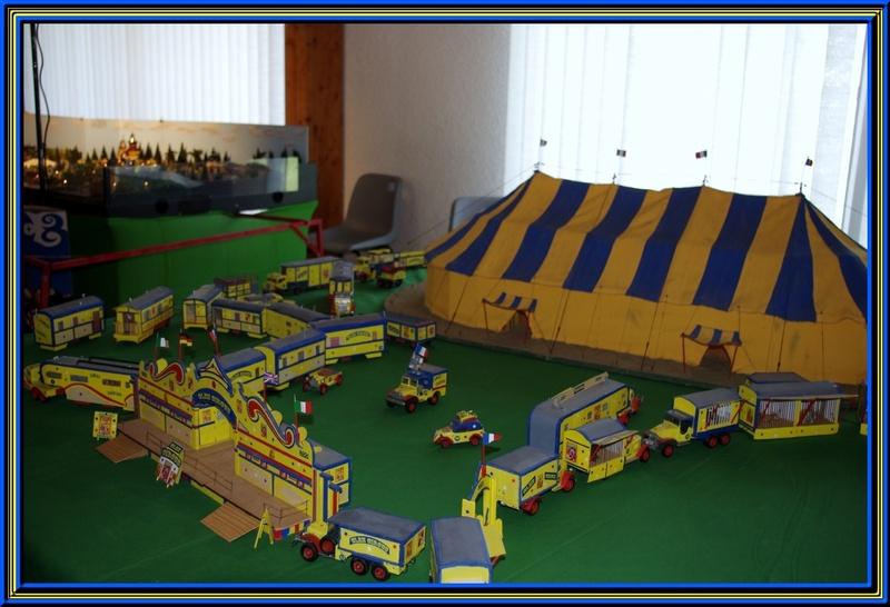 Exposition modélisme 2 eme partie le cirque et l fête forraine
