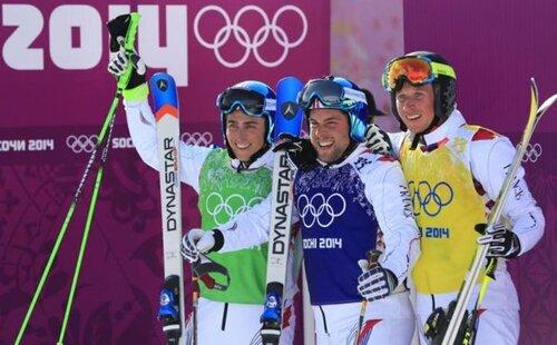 JO de Sotchi : triplé historique français en skicross ...