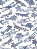 12. Tom's Jet avions bleus