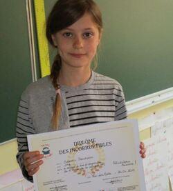 Vote et résultats de notre classe pour le 28ème Prix des Incorruptibles
