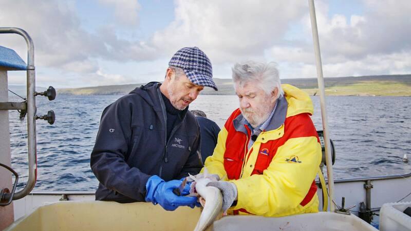 Med en gruppe færøske miljøforkæmpere