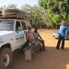 Burkina Tenkodogo Rencnotre avec notre ami peintre