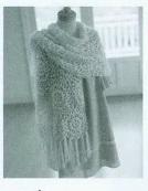 Crochet: 2 châles