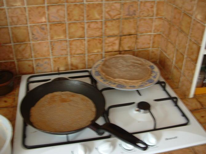 Recette apéritif et dînatoire: les Roulés de Galette bretonne