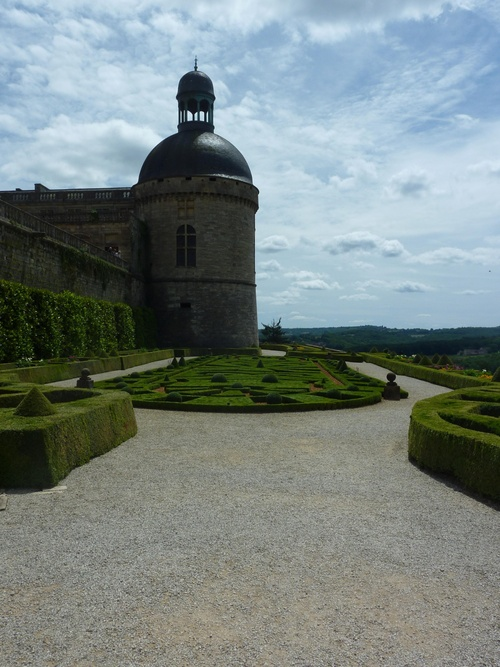 2 éme jour: Visite du château de Hautefort
