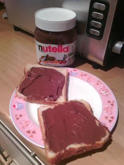 Tag - Nutella's bread