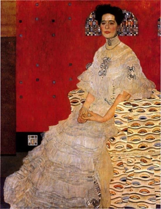 Gustav Klimt, Portrait Fritza