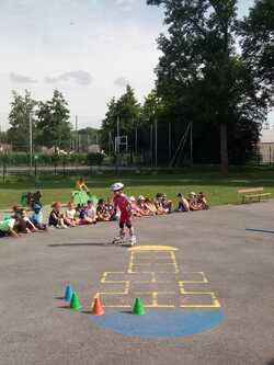 Démonstration dans les écoles de Villeparisis - Lundi 1er juillet 2019