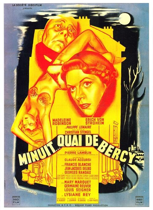 MINUIT QUAI DE BERCY BOX OFFICE FRANCE 1953