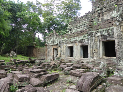 "J14,Temple ""Preah Khan"", Siem Reap,Cambodge"