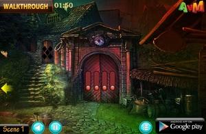 Jouer à AVM Haunted garden house escape