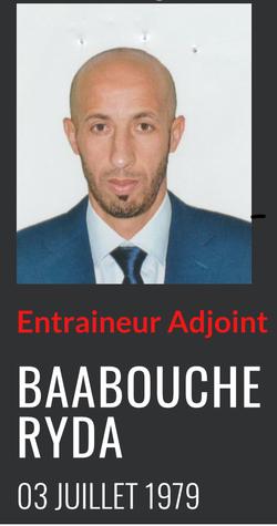 Baâbouche Mohamed Réda