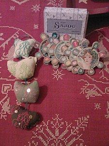 échange de Noël 2009 Scoopette à Christelle69 CARTES SAJ