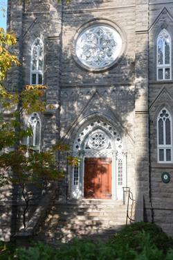 Quebec église Notre Dame du Sacré Coeur