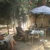 Mauritanie Nouakchott Repas langoustes à Jéloua