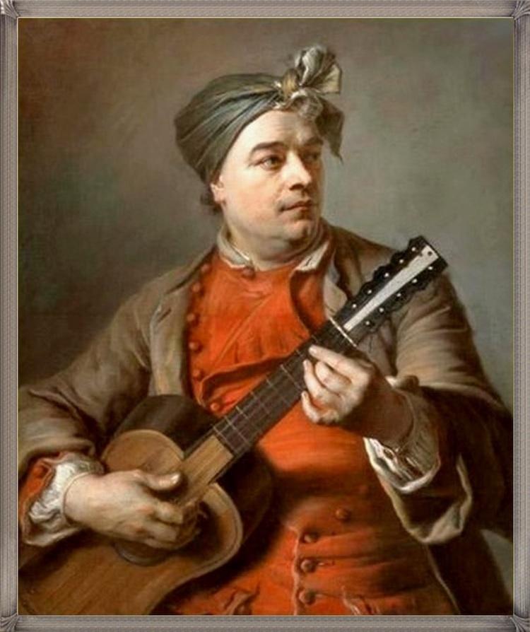 Quand les peintres rencontrent les instruments de musique...