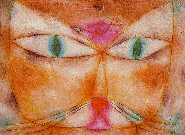 ► P. Klee, Chat et oiseau, 1928, Museum Modern Art New York