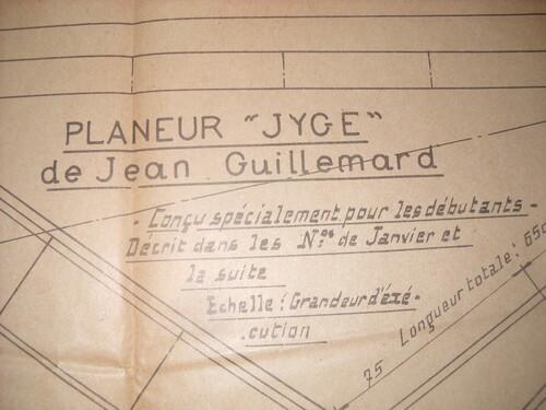 Planeur JYGE