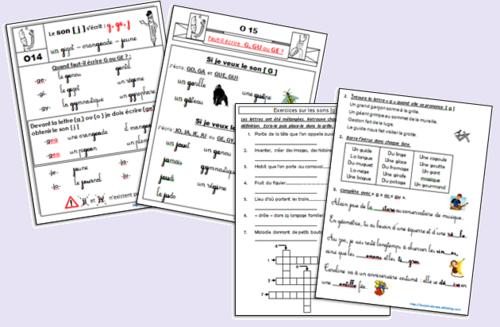 Dictées, leçons, exercices d'orthographe (2ème partie)