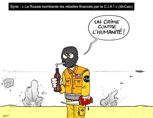 Syrie : Panique Chez Les Egorgeurs de l'OTAN...
