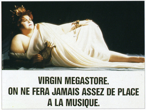 ANNE ZEMBERLAN & VIRGIN MEGASTOR