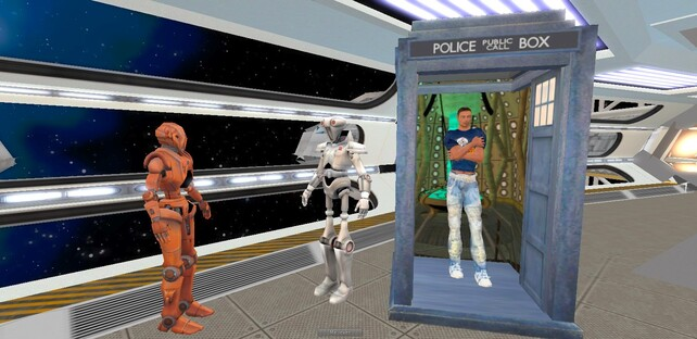 Tardis in Space 4 : Robots