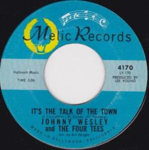 John Wesley And Four Tees -  It's the Talk Of The Town - 1966 -
