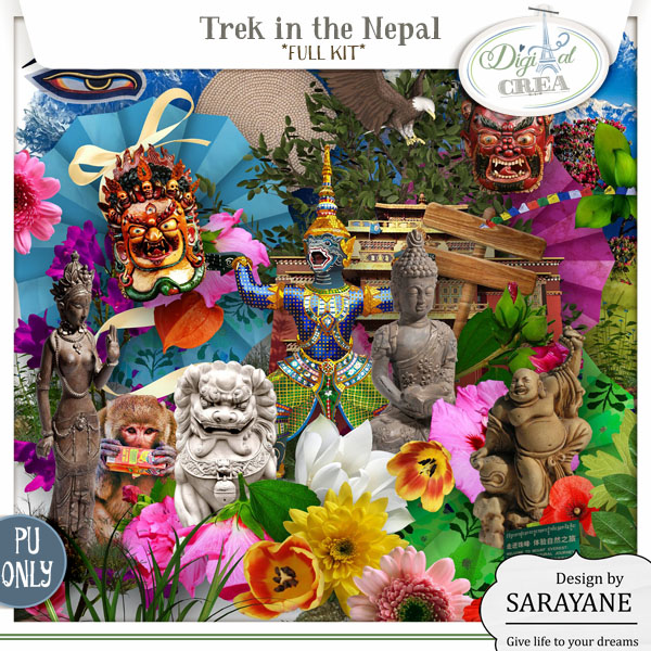 Trek in the Nepal (PU/S4H) by Sarayane