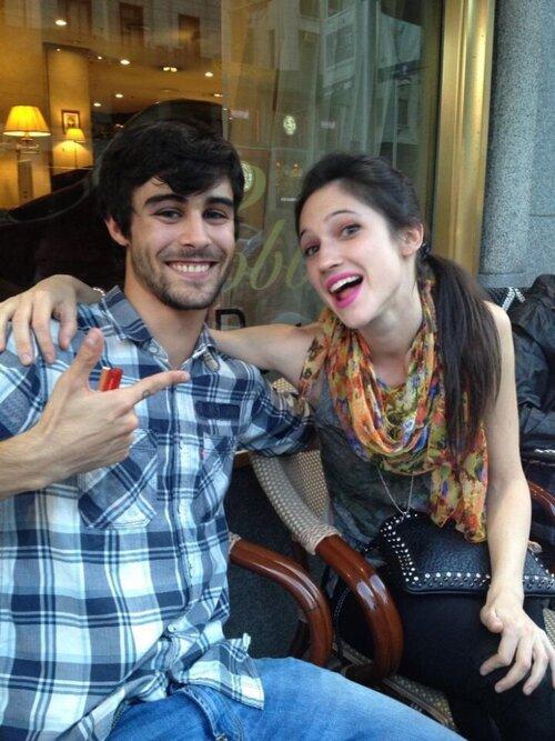 Les acteurs à Madrid ♣