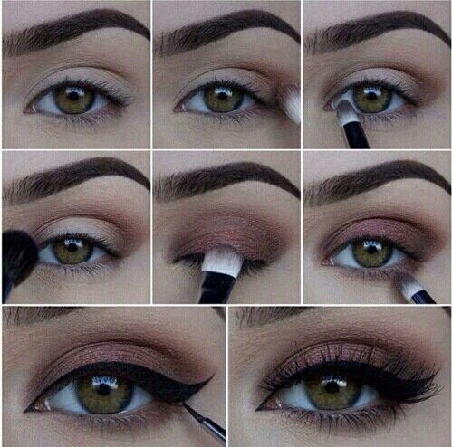 Toujours un très beau maquillage, tout en restant naturel. Un autre maquillage naturel mais sublime avec son très d'eyeliner.: