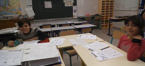 L'information hebdomadaire de l'école par les CM1-CM2
