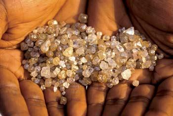 mbuji mayi diamants