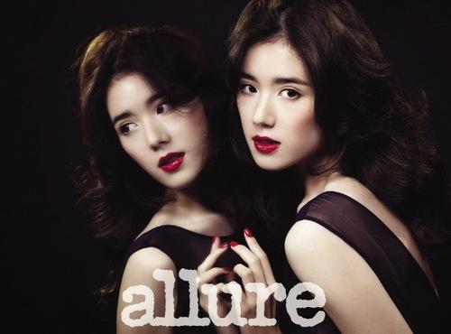 Jung Eun Jae pour Allure