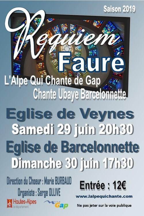 Samedi 29 juin 20h30 église St Sauveur Veynes